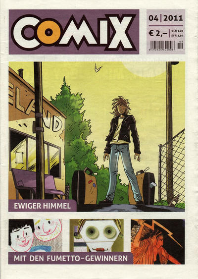 Cover for Comix (JNK, 2010 series) #4/2011