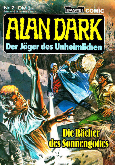 Cover for Alan Dark (1983 series) #2