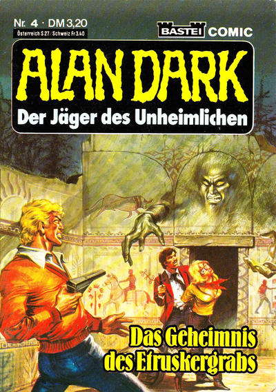 Cover for Alan Dark (Bastei Verlag, 1983 series) #4