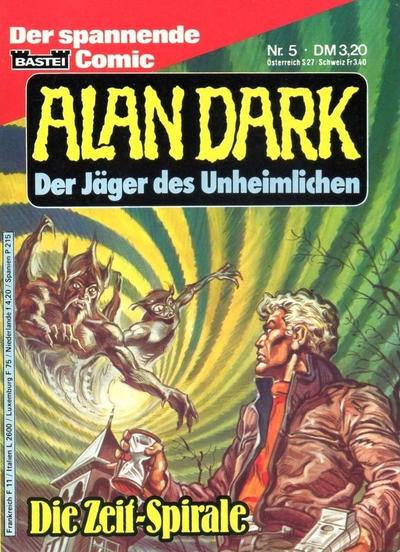 Cover for Alan Dark (1983 series) #5