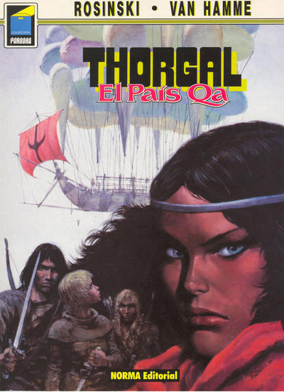Cover for Pandora (1989 series) #3
