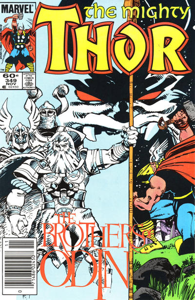 Cover for Thor (Marvel, 1966 series) #349 [Direct Edition]