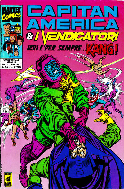 Cover for Capitan America & i Vendicatori (1990 series) #55