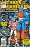 Cover for The Transformers Universe (Marvel, 1986 series) #4 [Newsstand Edition]