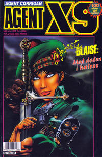Cover Thumbnail for Agent X9 (Semic, 1976 series) #4/1995