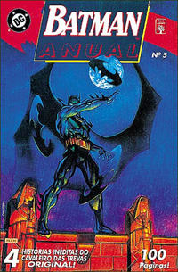 Cover Thumbnail for Batman Anual (Editora Abril, 1990 series) #5