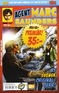 Cover Thumbnail for Agent Marc Saunders (Serieplaneten, 2011 series) #1/2011