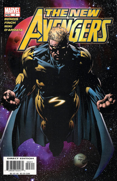 Cover for New Avengers (Marvel, 2005 series) #3 [Direct Edition]
