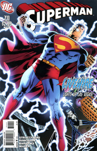 Cover for Superman (DC, 2006 series) #711 [10 for 1 Variant]