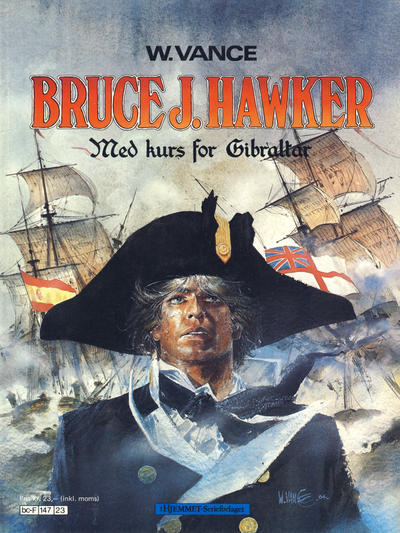 Cover for Bruce J. Hawker (Hjemmet / Egmont, 1985 series) #1 [Reutsendelse]
