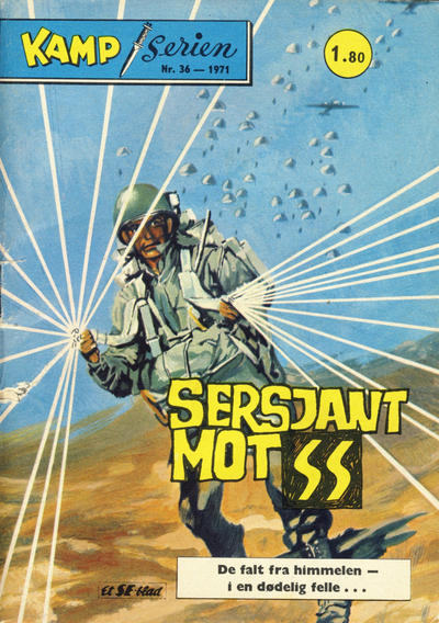 Cover for Kamp-serien (Se-Bladene, 1964 series) #36/1971