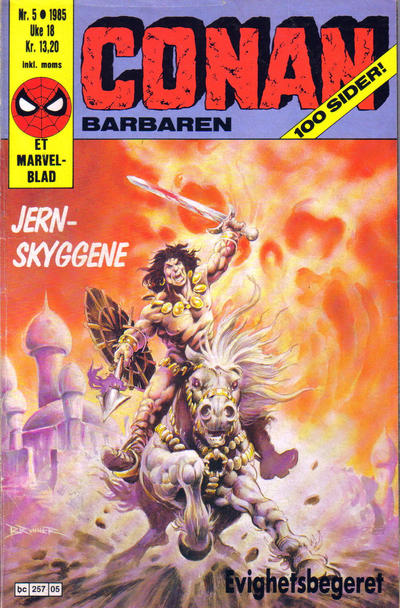 Cover for Conan (Semic, 1984 series) #5/1985