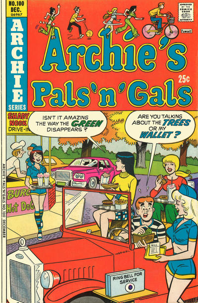 Cover for Archie's Pals 'n' Gals (1952 series) #100