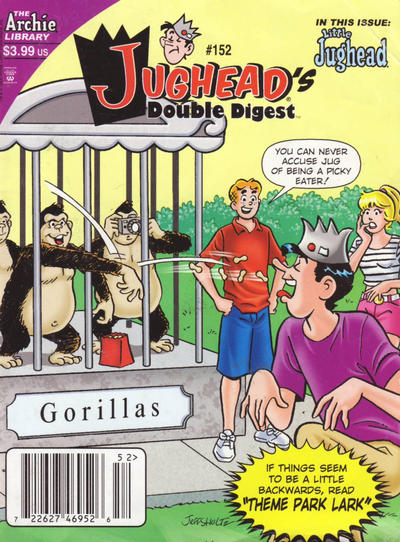 Cover for Jughead's Double Digest (Archie, 1989 series) #152 [Direct]