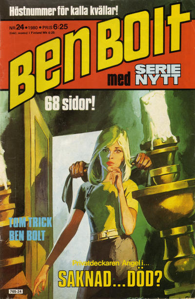 Cover for Serie-nytt [delas?] (Semic, 1970 series) #24/1980