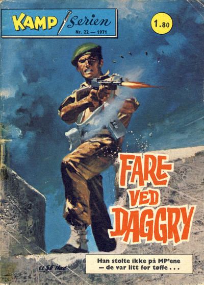 Cover for Kamp-serien (1964 series) #22/1971