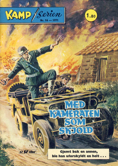 Cover for Kamp-serien (1964 series) #16/1971