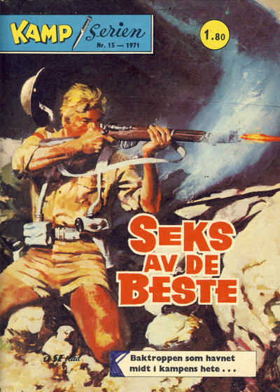 Cover for Kamp-serien (Se-Bladene, 1964 series) #15/1971
