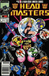 Cover for The Transformers: Headmasters (Marvel, 1987 series) #3 [Newsstand Edition]