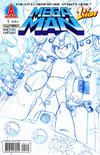 Cover Thumbnail for Mega Man (2011 series) #1 [Sketch Variant by Chad Thomas]
