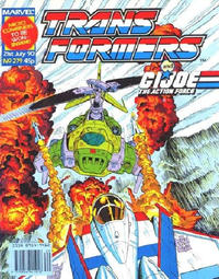 Cover for Transformers (1984 series) #279