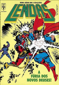 Cover Thumbnail for Lendas (Editora Abril, 1988 series) #5