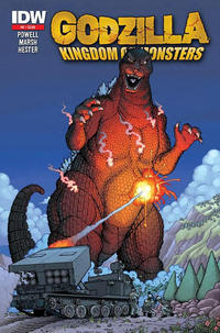 Cover Thumbnail for Godzilla: Kingdom of Monsters (IDW Publishing, 2011 series) #2 [Second Printing?]