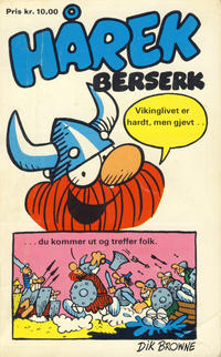 Cover Thumbnail for Hårek Berserk [Hårek pocket] (Allers Forlag, 1977 series) #3