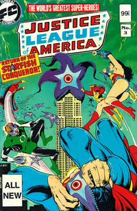 Cover Thumbnail for Justice League of America (Federal, 1983 series) #3