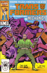 Cover Thumbnail for The Transformers (Marvel, 1984 series) #26 [Direct]