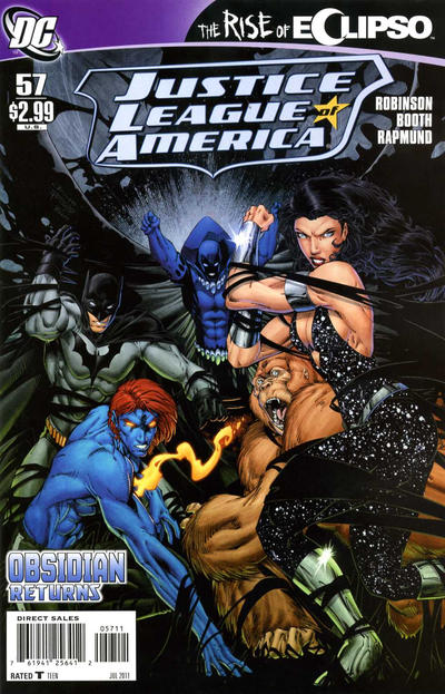 Cover for Justice League of America (DC, 2006 series) #57 [Ed Benes Variant Cover]