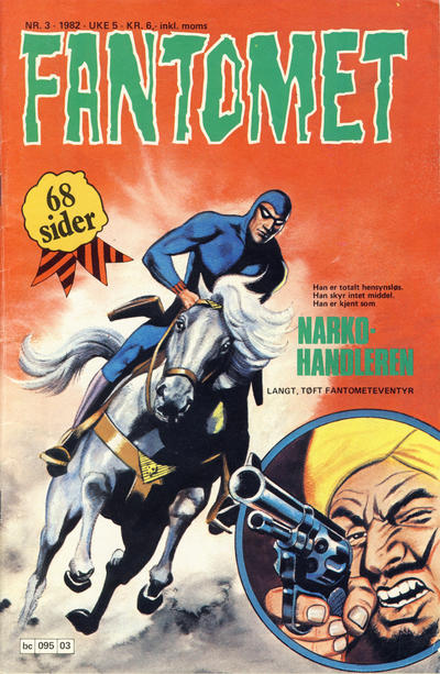 Cover for Fantomet (1976 series) #3/1982