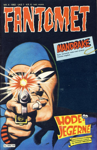Cover for Fantomet (1976 series) #4/1982