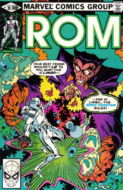 Cover for ROM (Marvel, 1979 series) #19 [Newsstand Edition]