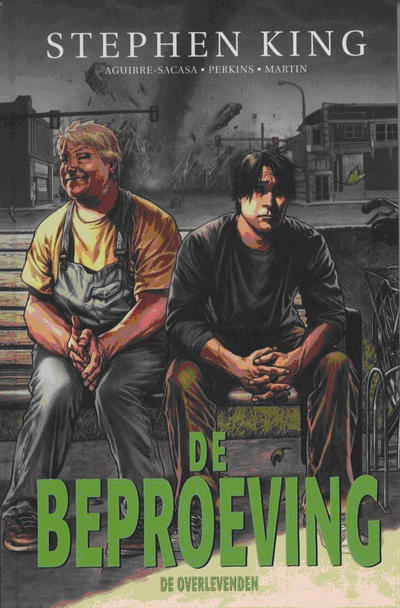 Cover for De Beproeving (Luitingh, 2010 series) #3