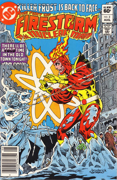 Cover for The Fury of Firestorm (1982 series) #3 [Newsstand]