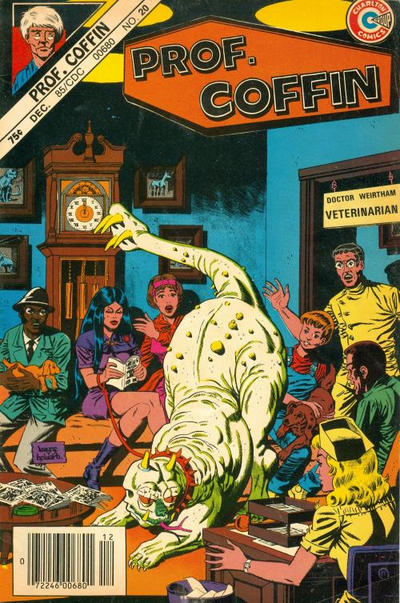 Cover for Professor Coffin (1985 series) #20 [Blank UPC Box]