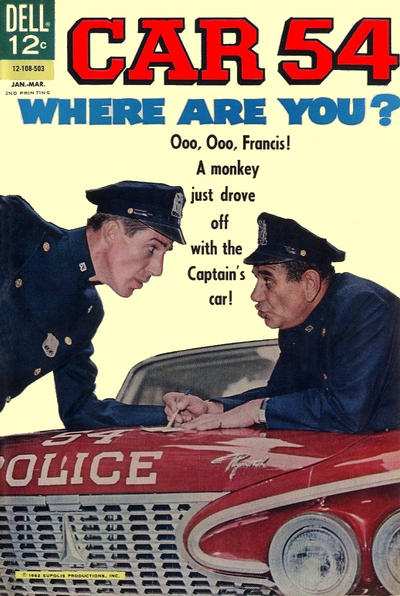 Cover for Car 54, Where Are You? [2nd Printing] (Dell, 1964 series) #4