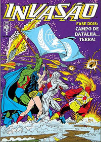 Cover Thumbnail for Invasão (Editora Abril, 1990 series) #2