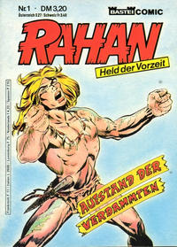 Cover for Rahan (1984 series) #1