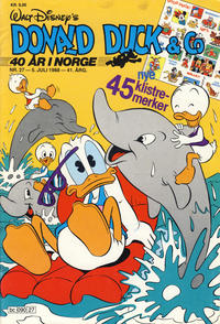 Cover Thumbnail for Donald Duck & Co (Hjemmet, 1948 series) #27/1988