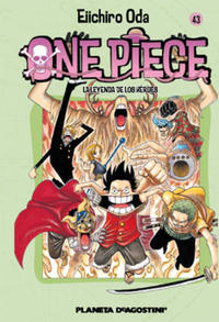 Cover Thumbnail for One Piece (Planeta DeAgostini, 2003 series) #43