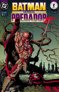 Cover Thumbnail for Batman versus Predador II (Editora Abril, 1996 series) #2