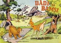 Cover Thumbnail for Dådi og Bamsi (Fredhøis forlag, 1954 series) #4