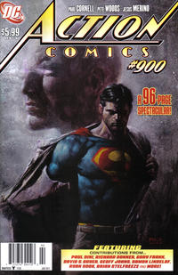 Cover for Action Comics (DC, 1938 series) #900 [Adam Hughes Variant]