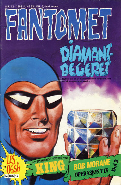 Cover for Fantomet (Semic, 1976 series) #12/1982