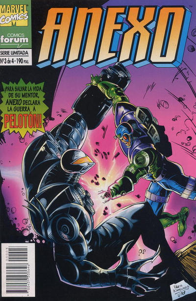 Cover for Anexo (Planeta DeAgostini, 1995 series) #3