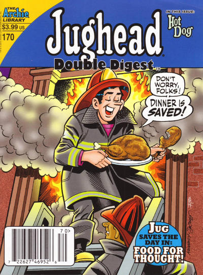 Cover for Jughead's Double Digest (Archie, 1989 series) #170