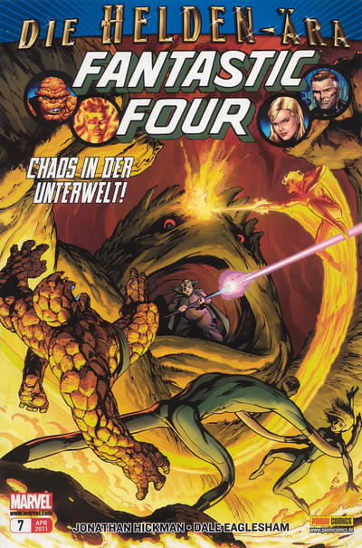 Cover for Fantastic Four (Panini Deutschland, 2009 series) #7