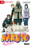 Cover for Naruto (Ediciones Glénat, 2002 series) #34